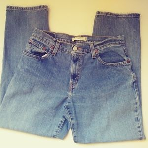 LEVI'S 550 RELAXED TAPERED JEANS 8s